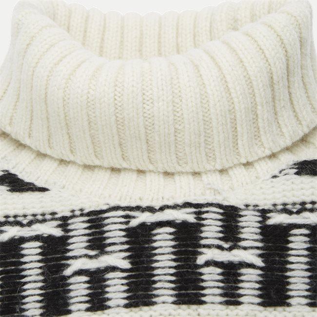 Oversized Fairisle Roll Neck Sweater